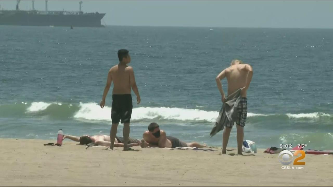 LA County Reopening Several Beach Parking Lots For 1st Time In Weeks