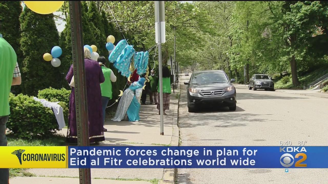 Islamic Center of Pittsburgh Celebrates Eid Al Fitr With Drive Thru Celebration