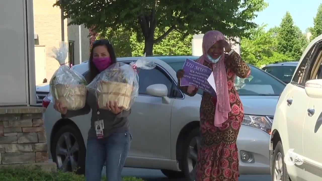 Boise's Islamic Community organized 'Honk for Heroes' parade to honor healthcare workers