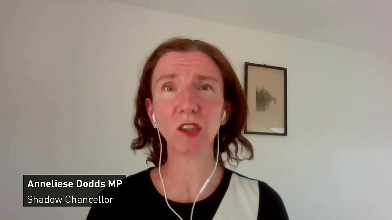 Shadow chancellor reacts to UK's furlough changes