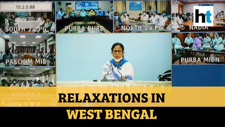 Mamata Banerjee announces relaxations in WB, offices, shrines to reopen