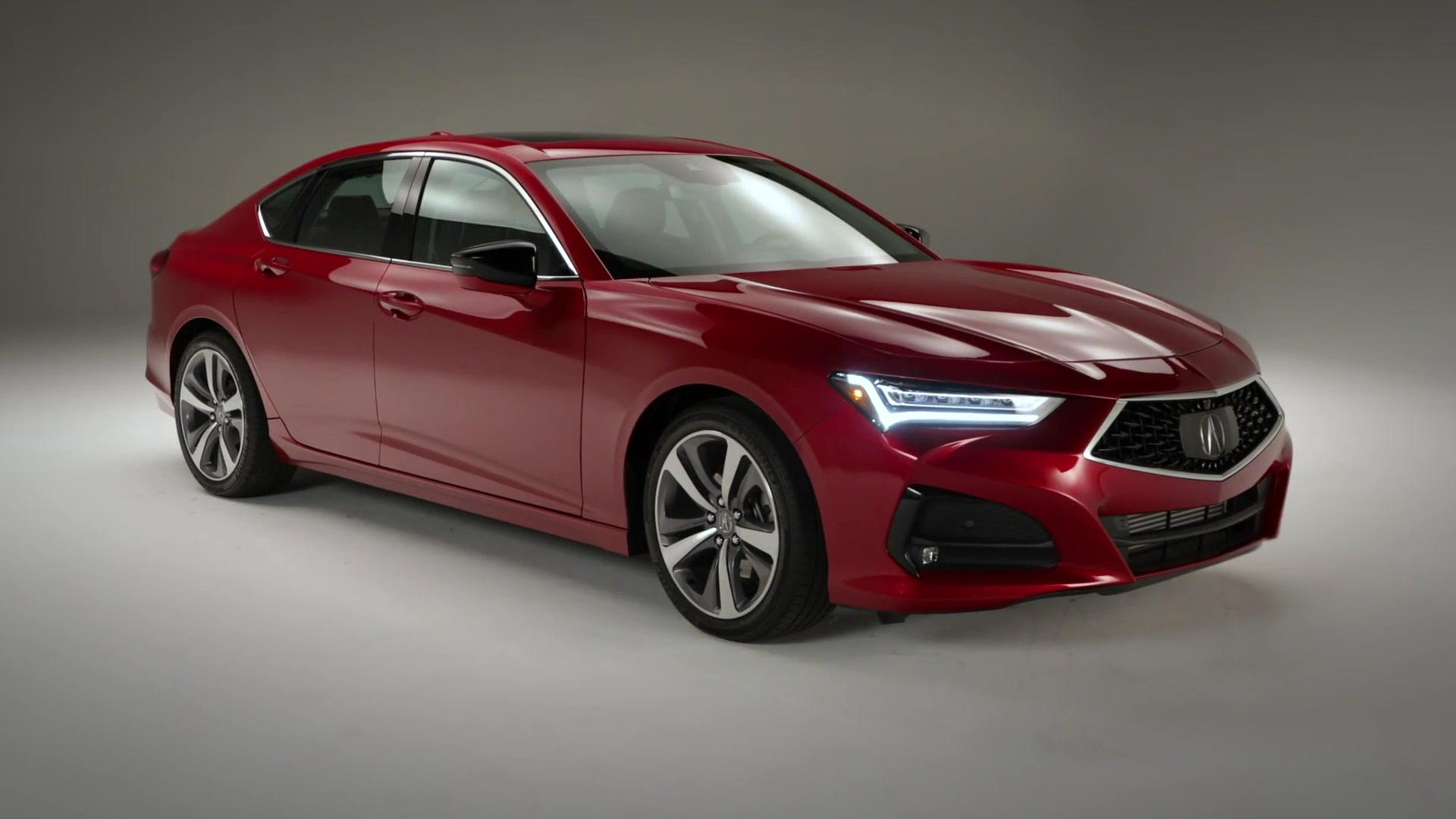 the allnew 2021 acura tlx design preview  one news page