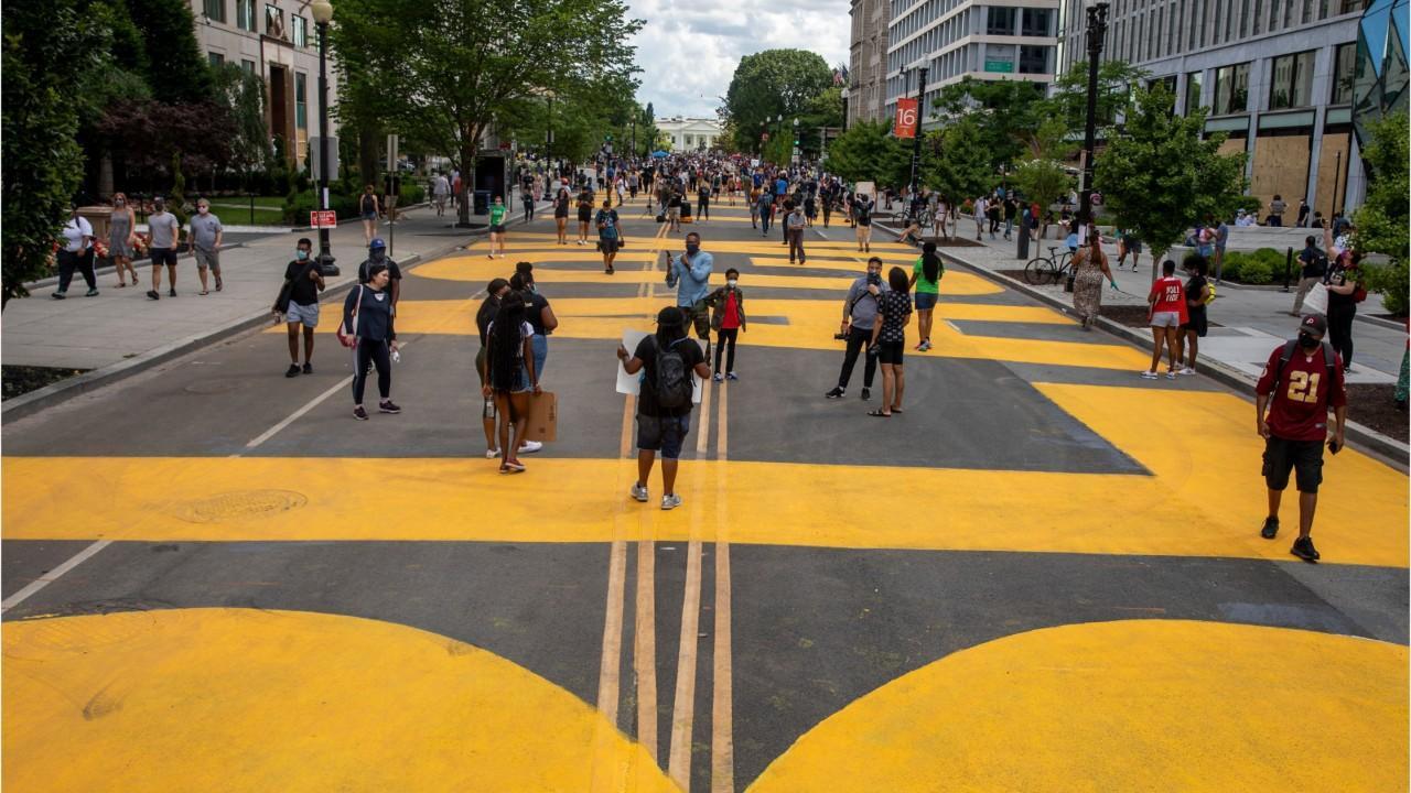 D.C. Mayor Has 'Black Lives Matter' Painted Near White House