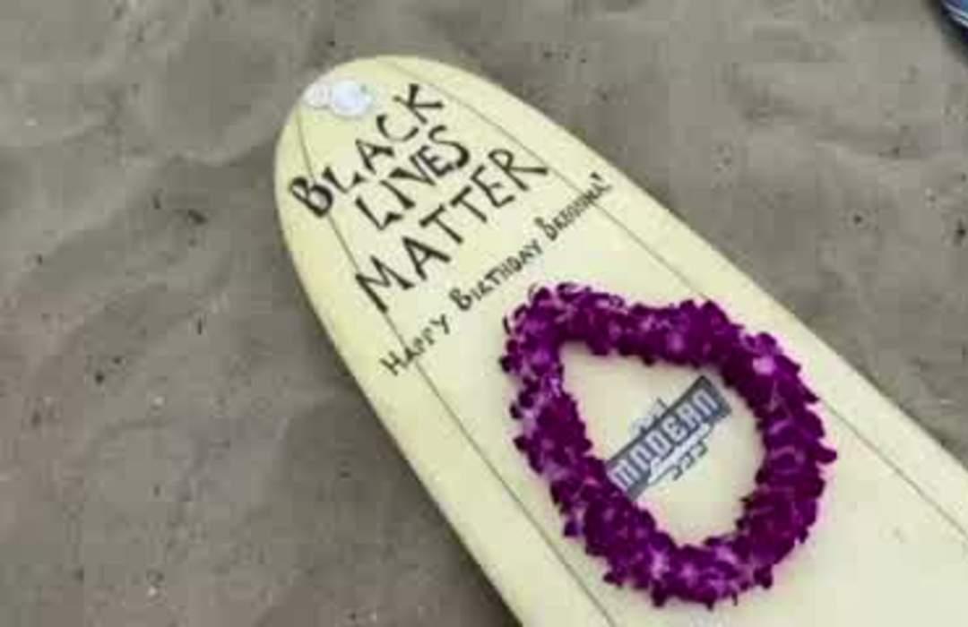'Black Girls Surf' group honors George Floyd