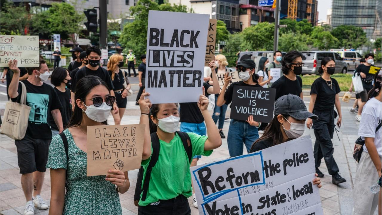Thousands March On White House, Protest Police Violence
