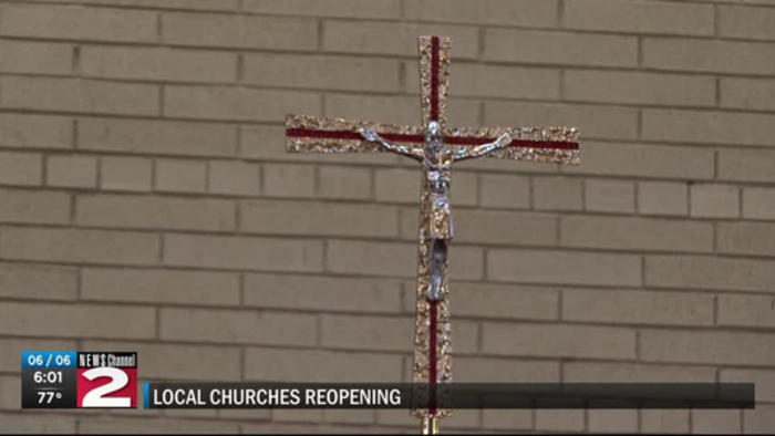 Local churches reopening