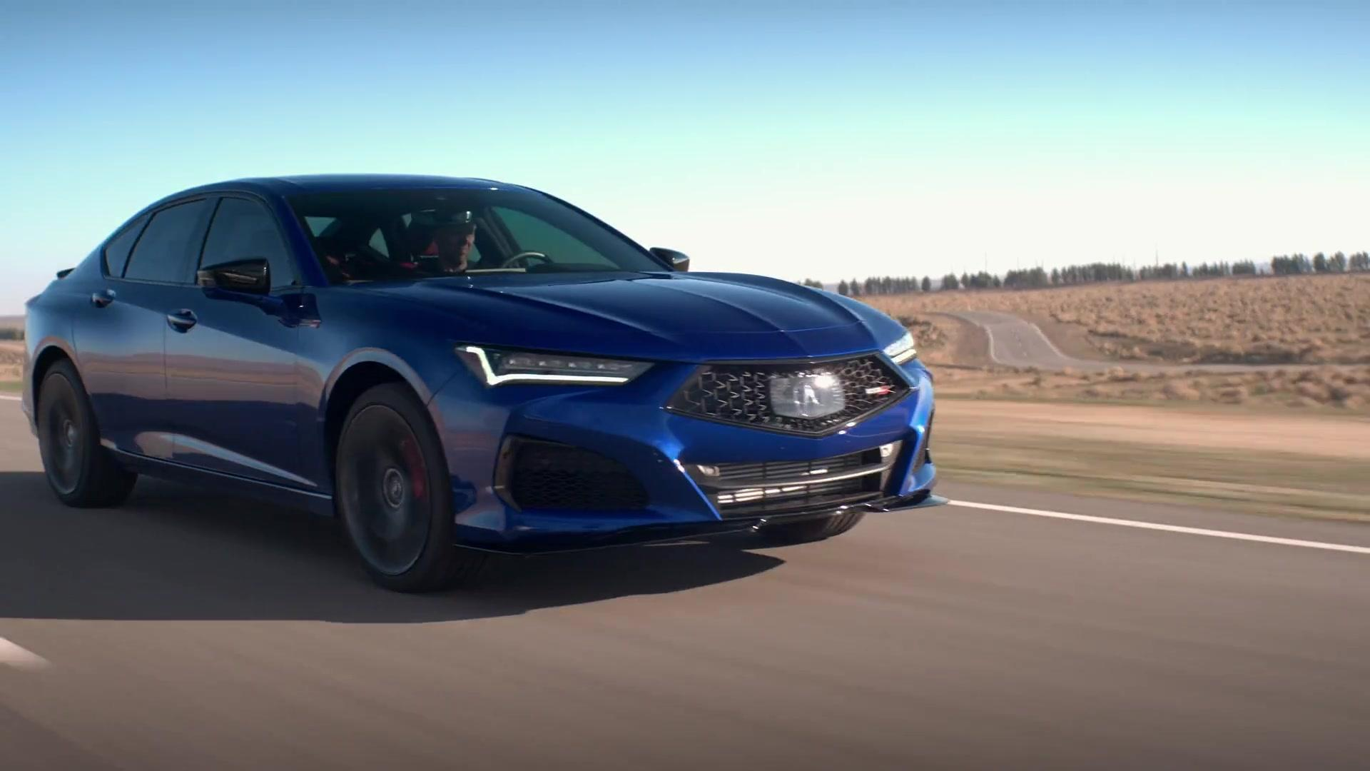 The All New 2021 Acura Tlx Type S Driving Video One News Page Video