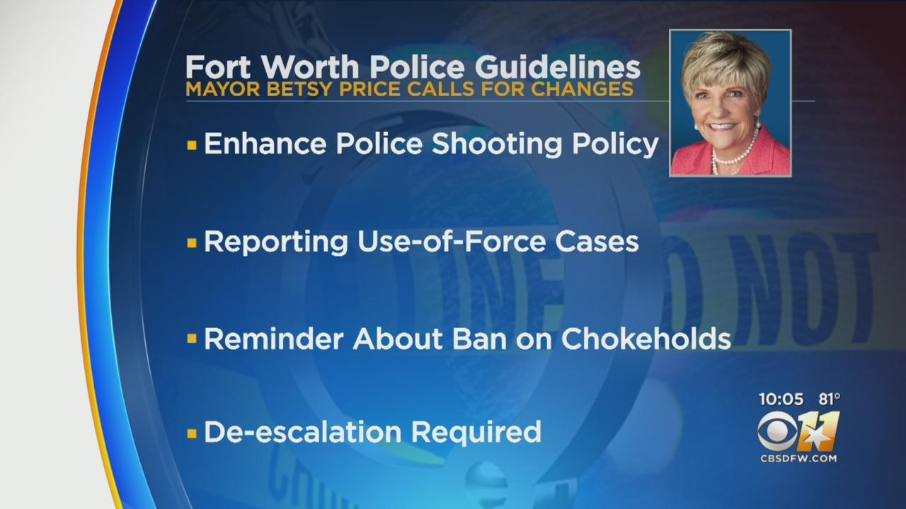 Fort Worth Mayor Betsy Price Details Effort To 'Provide Equity And Justice For Communities Of Color'
