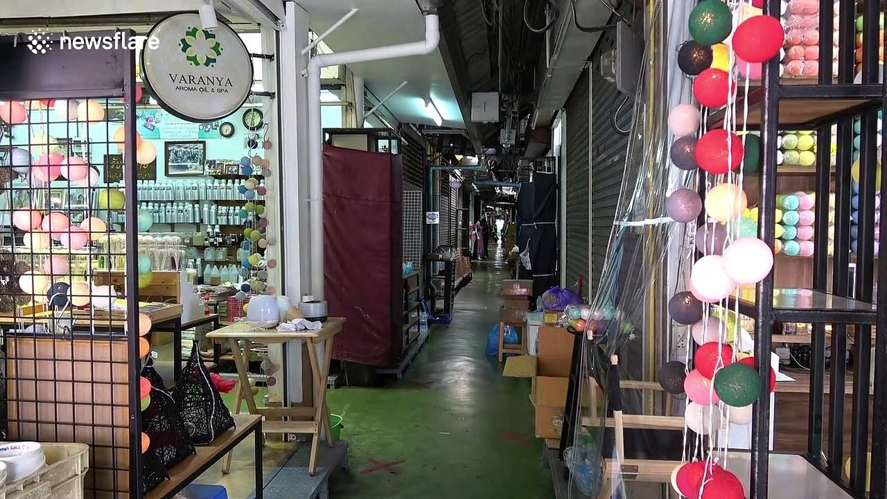 Thailand's Chatuchak market re-opens as country eases coronavirus restrictions