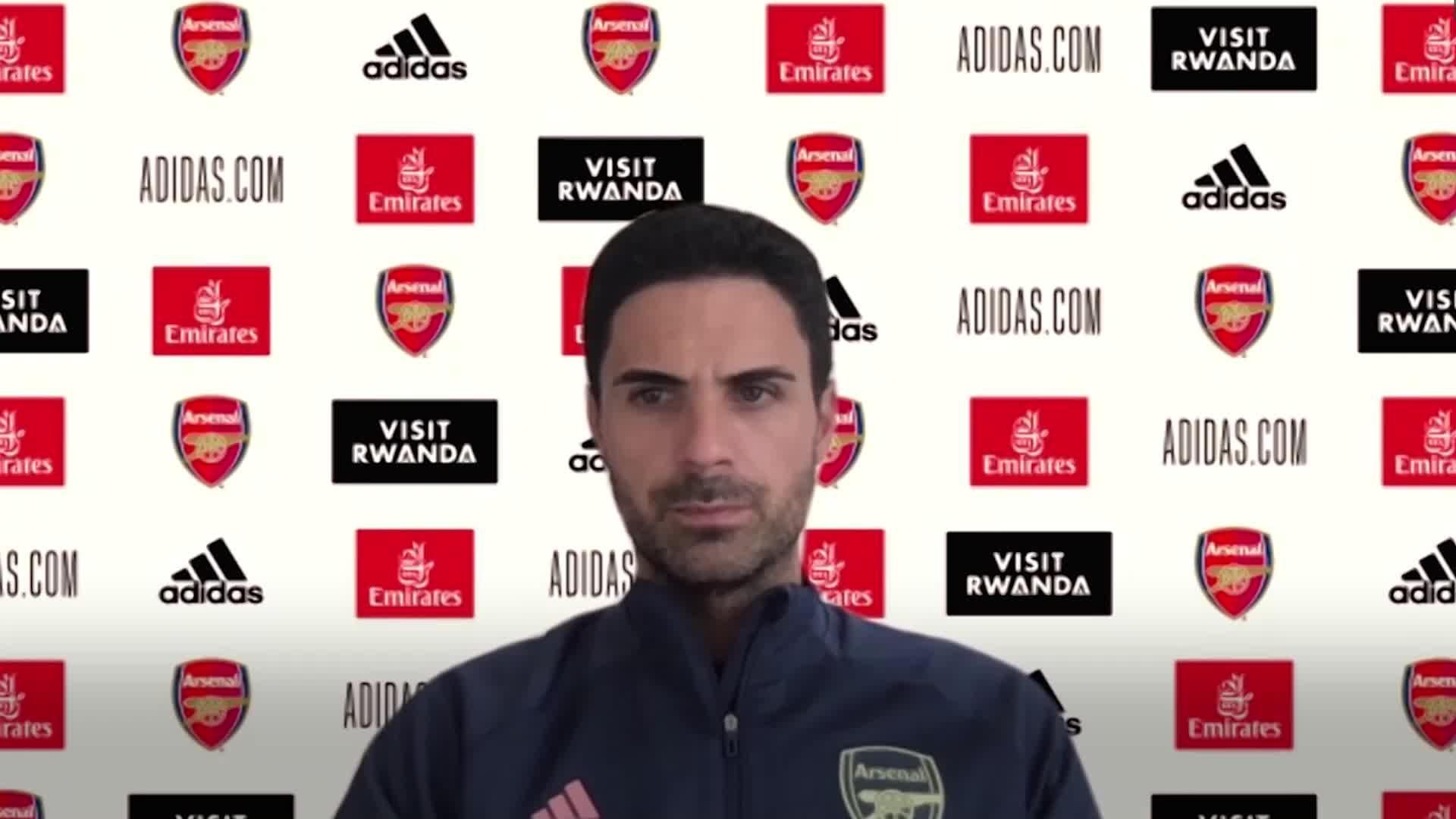 Brighton v Arsenal: Mikel Arteta pre-match press conference