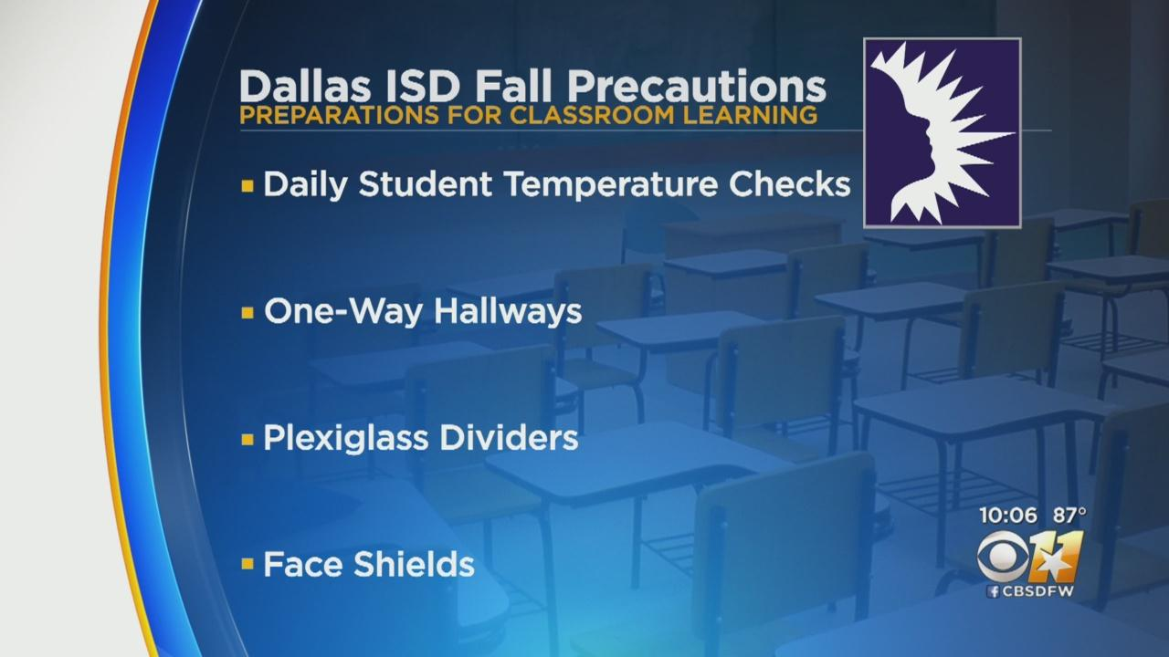North Texas School Districts Working On Plans For Fall Classes
