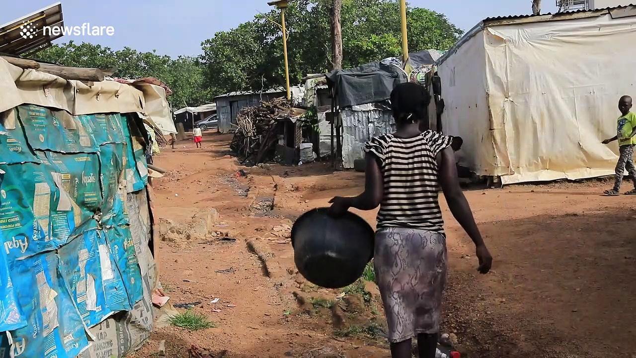 Refugees fleeing Boko Haram speak out at camp in central Nigeria