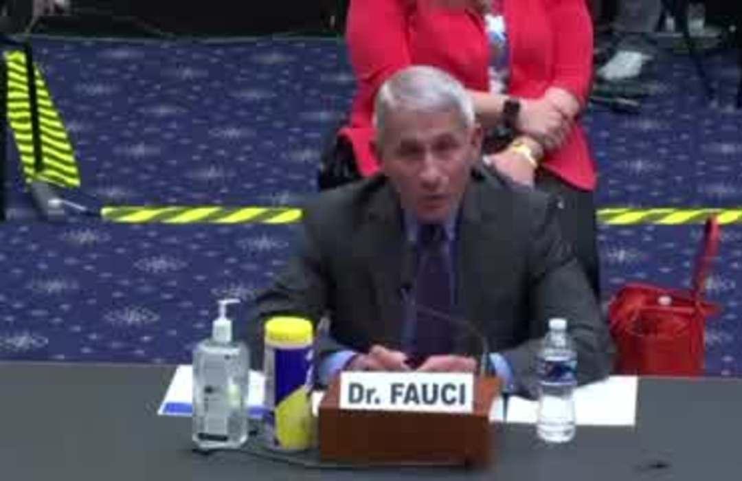 Fauci sees 'disturbing' surge in virus cases