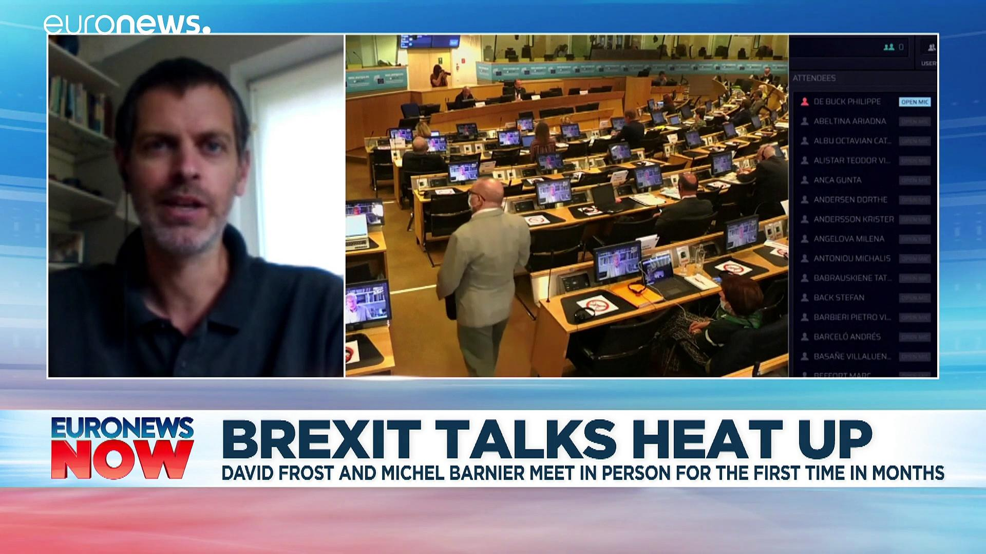 Post-Brexit trade: Row over state aid as face-to-face talks resume in Brussels