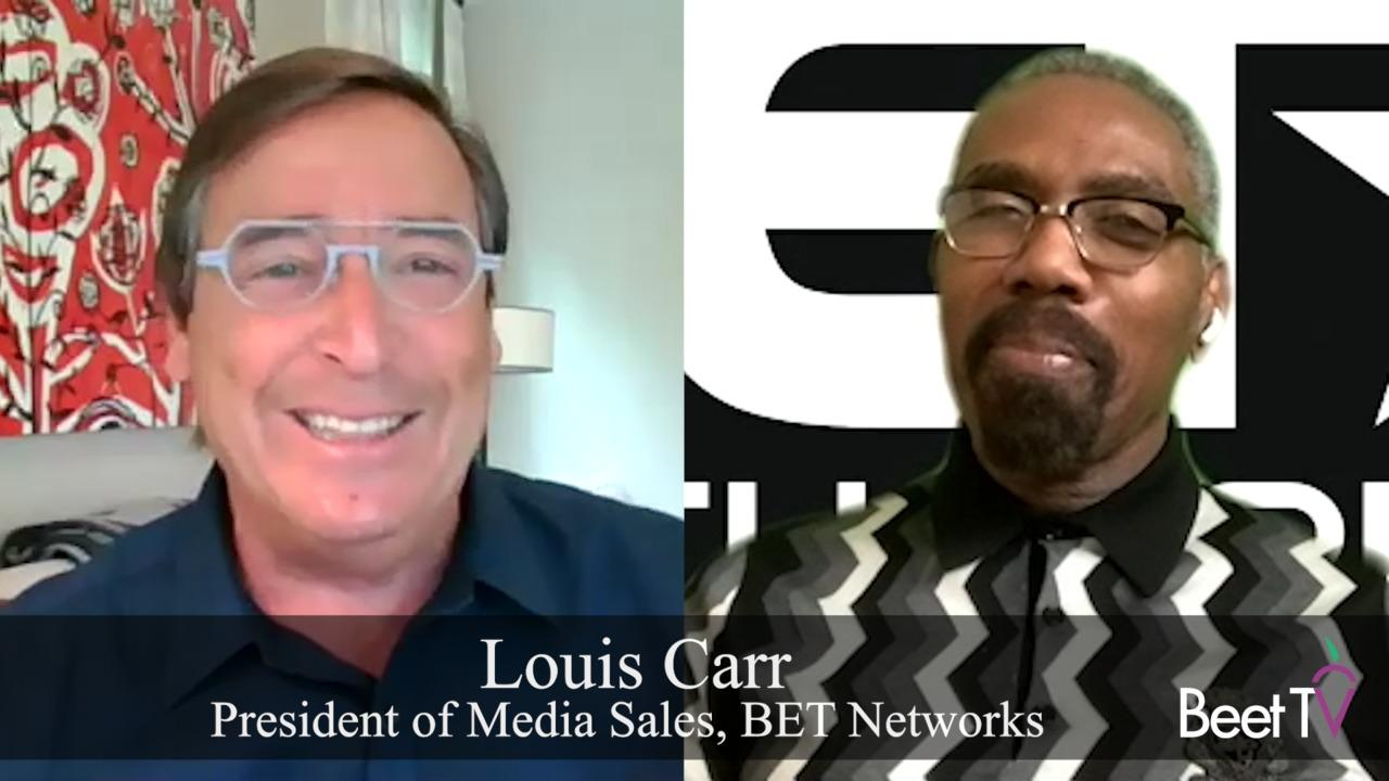 'It's Up to Us to Close the Deal' on Promoting Equality: BET Network's Louis Carr