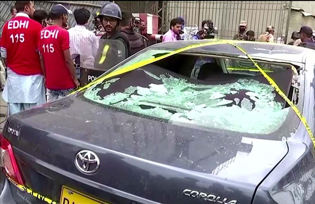 Gunmen attack Pakistani stock exchange