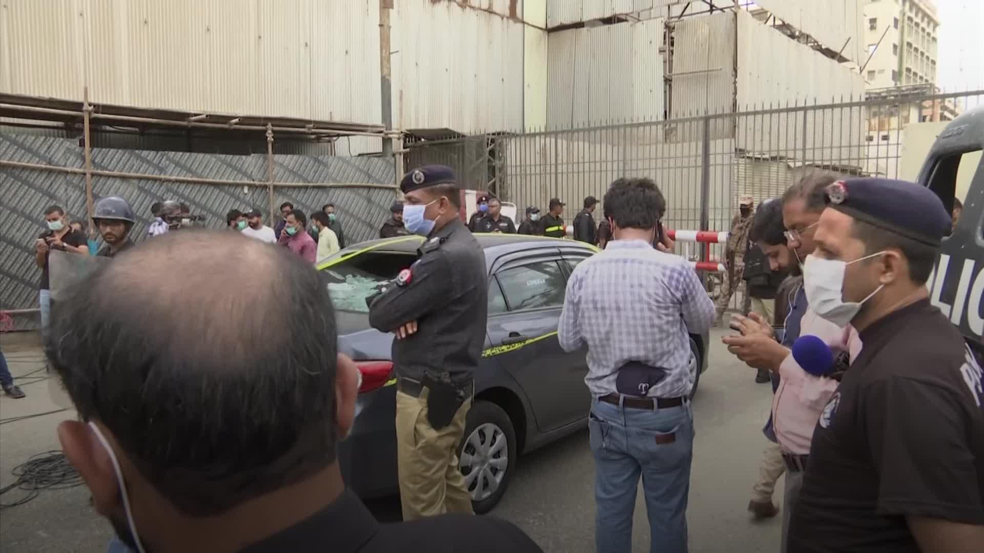 At least three dead after gunmen attack Karachi stock exchange