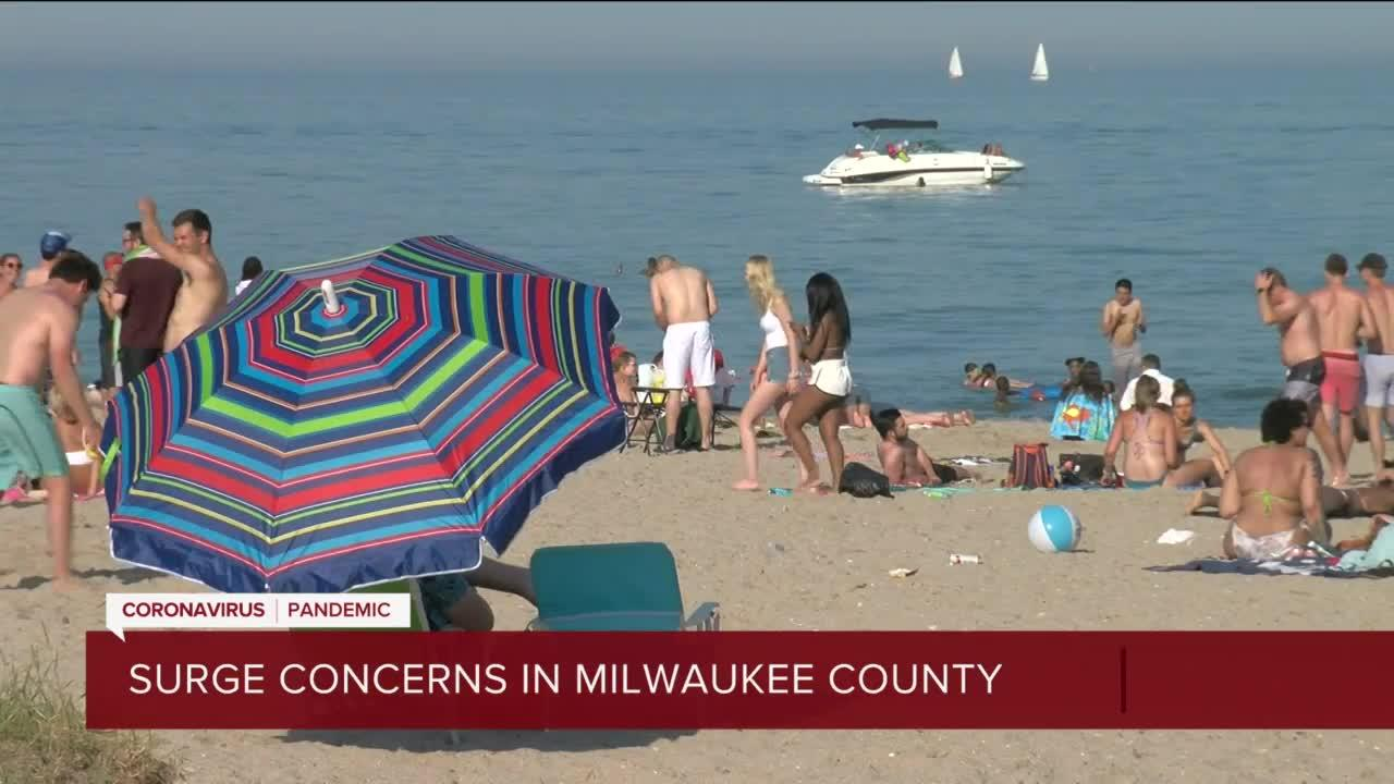 Surge in COVID-19 concerns for Milwaukee County