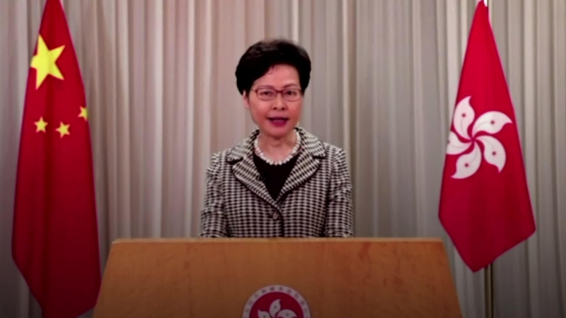 Carrie Lam defends new China security law