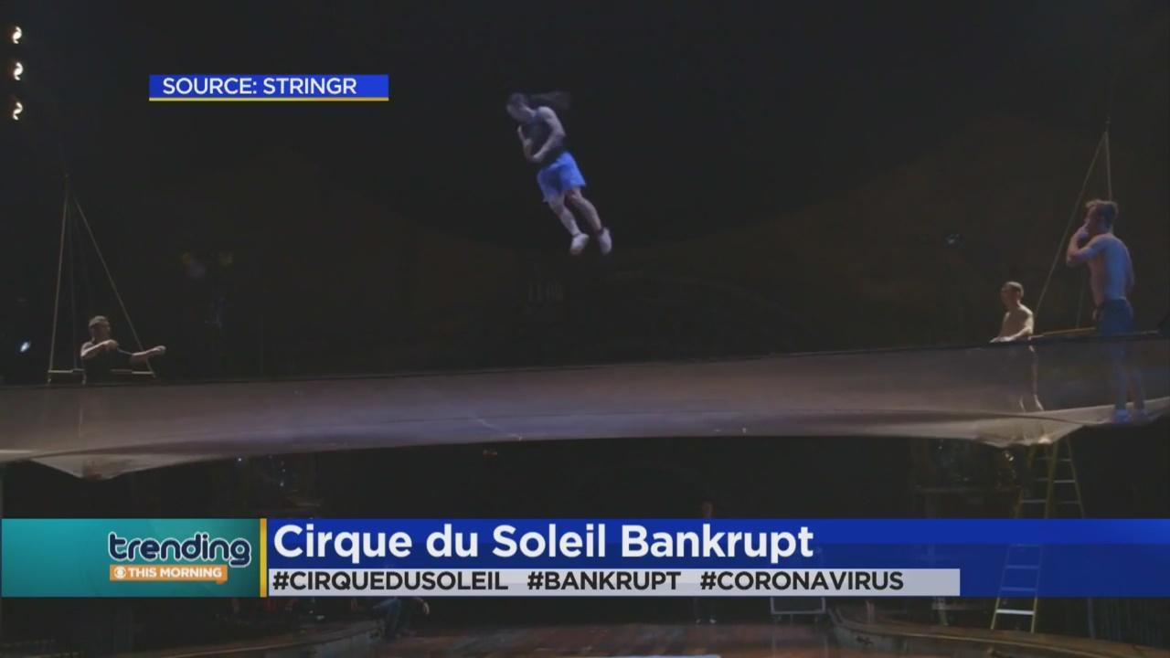 Trending: Cirque du Soleil Bankruptcy Protection
