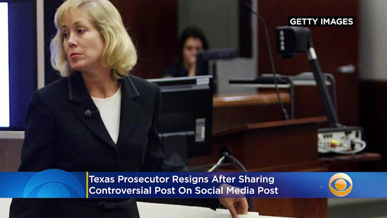 Texas Prosecutor Resigns After Social Media Post Seems To Compare Black Lives Matter Protesters To Nazis