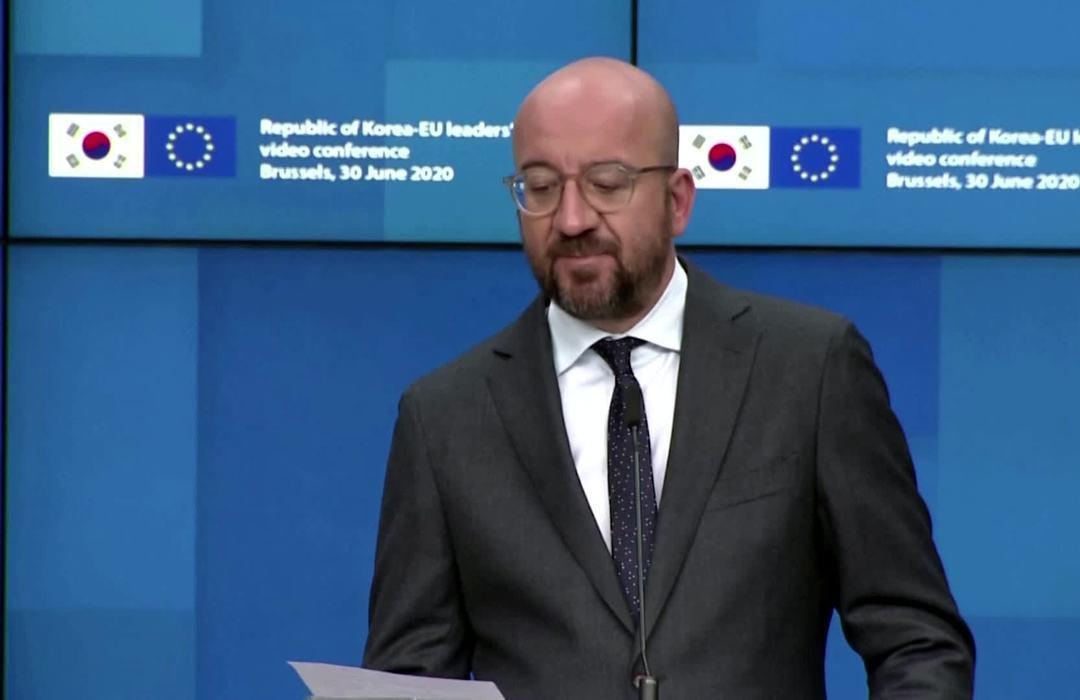 EU 'deplores' new Hong Kong national security law