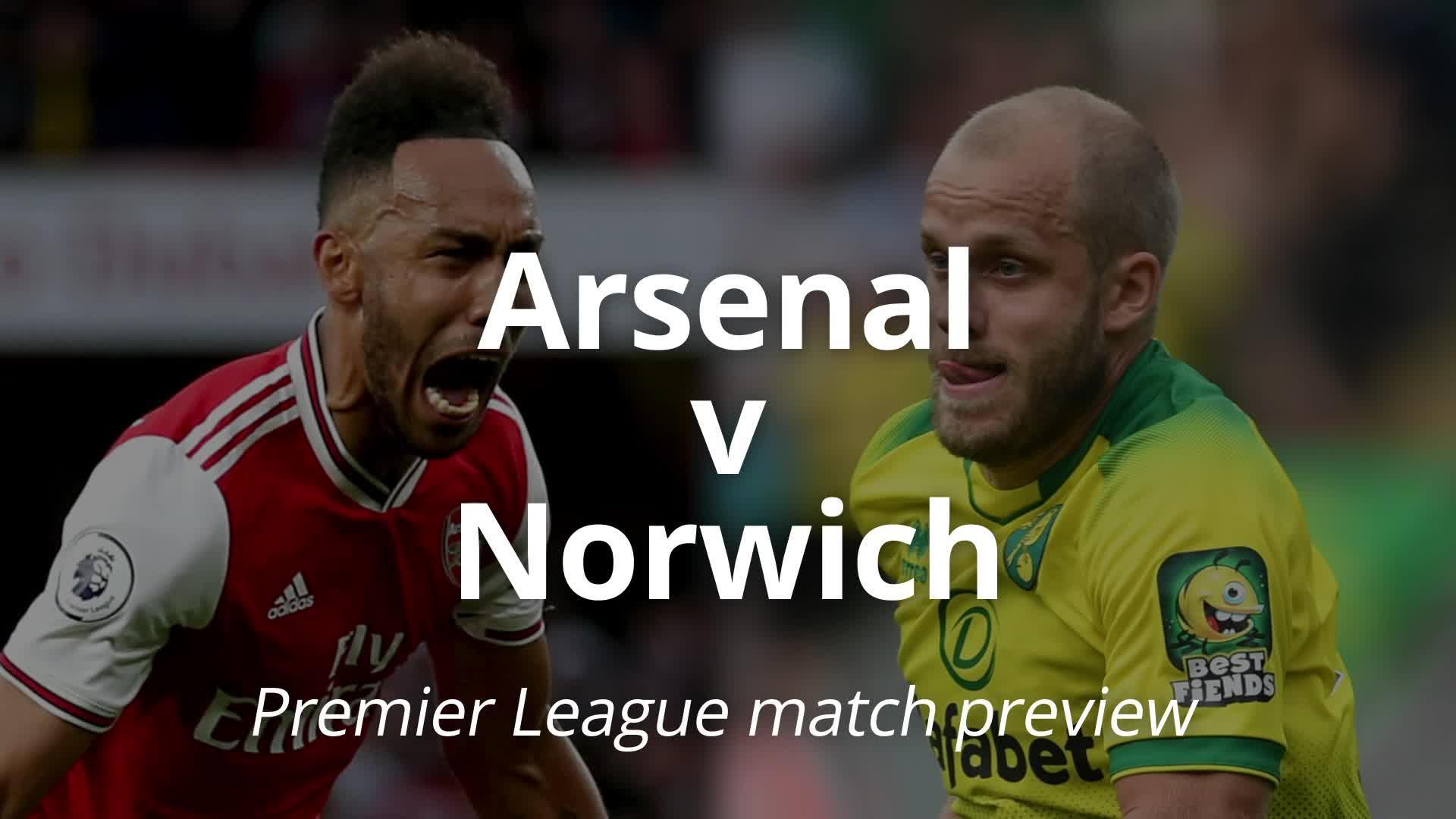 Arsenal v Norwich: Premier League match preview