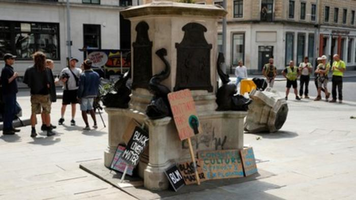 Who was Edward Colston, why was his statue toppled?