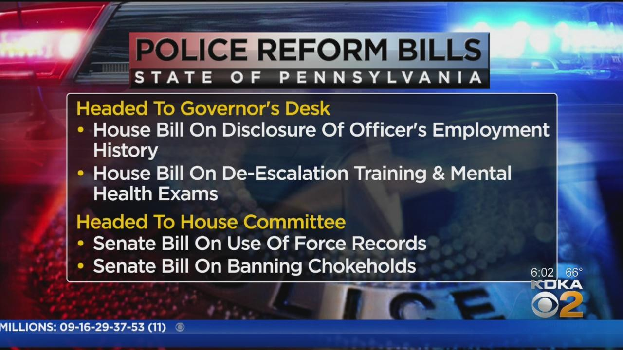 Gov. Wolf Expected To Sign Police Reform Bills