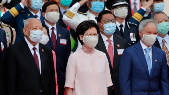 Hong Kong marks handover anniversary under shadow of security law