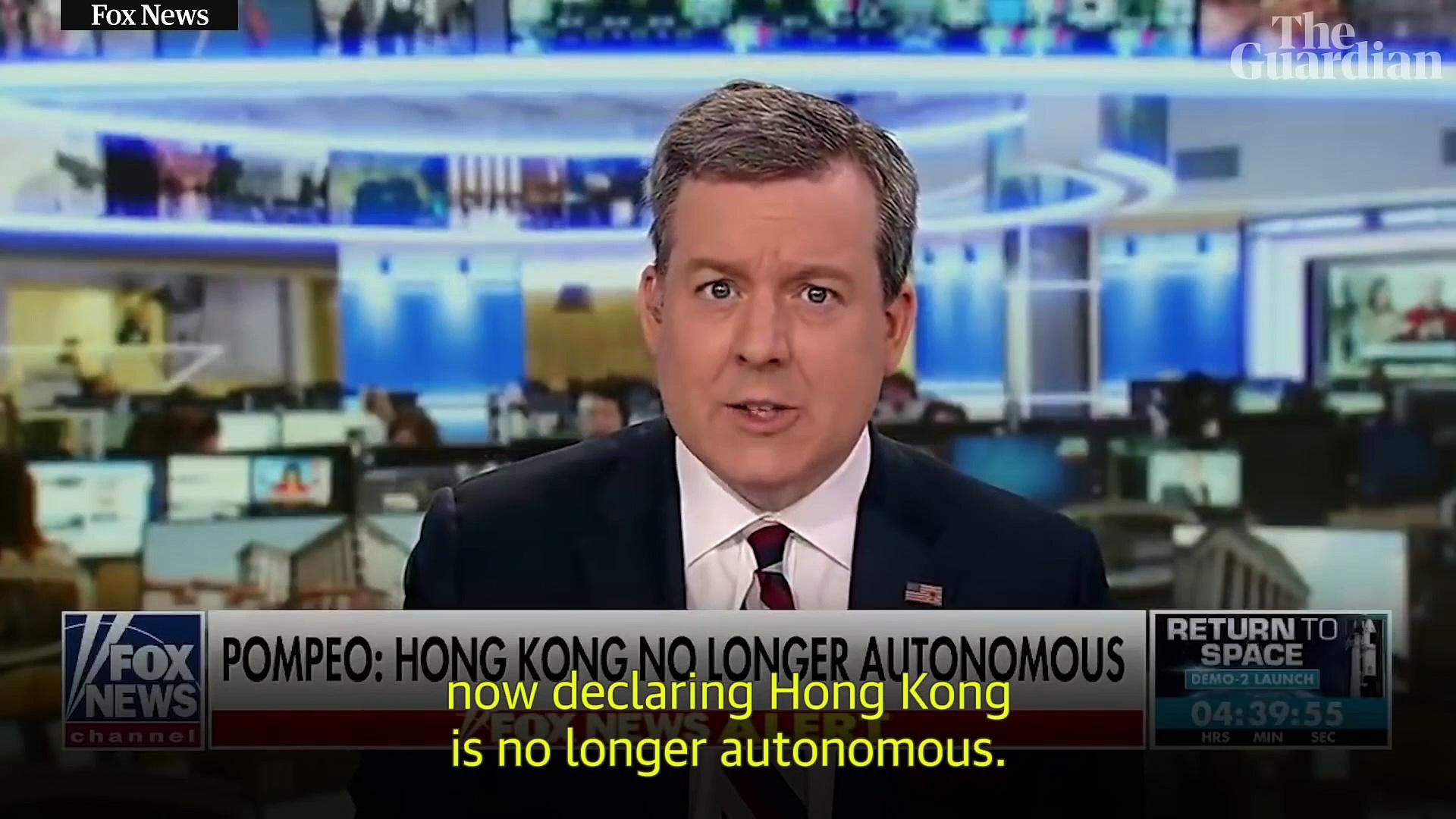Is China pushing Hong Kong further away with its new security law? – video explainer