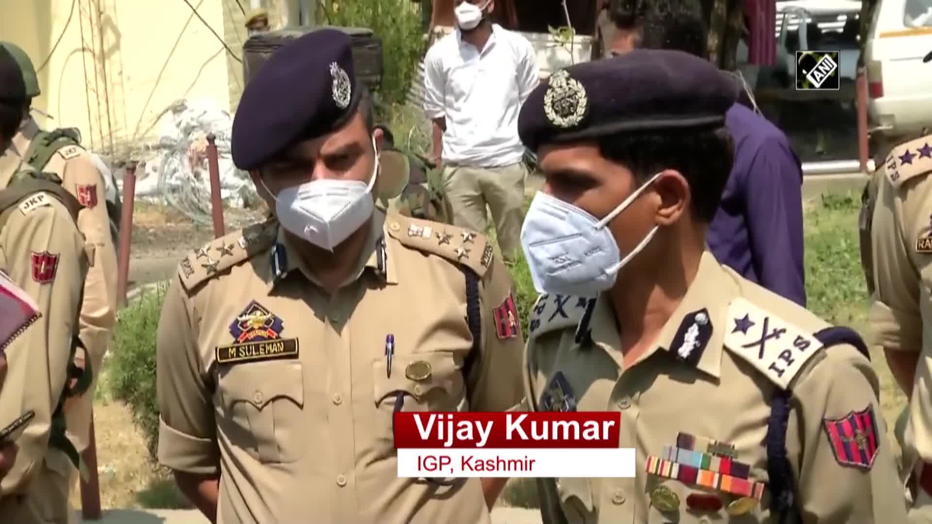 Killing of BJP leader by terrorists seems like pre-planned attack: Kashmir IGP