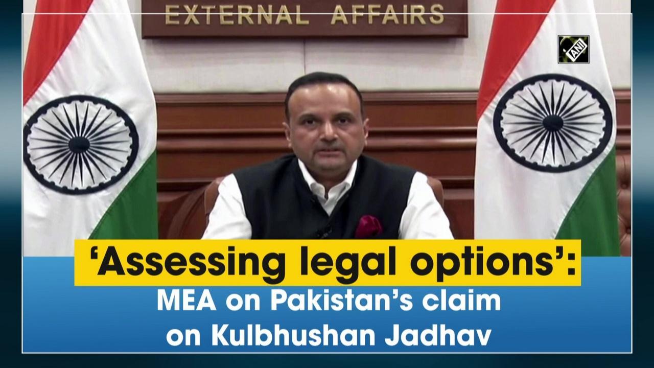 'Assessing legal options': MEA on Pakistan's claim on Kulbhushan Jadhav