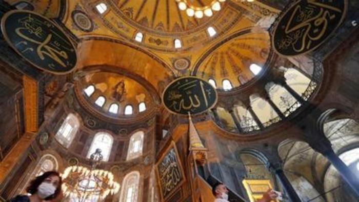 Turkey reconverts Istanbul's Hagia Sophia museum into a mosque