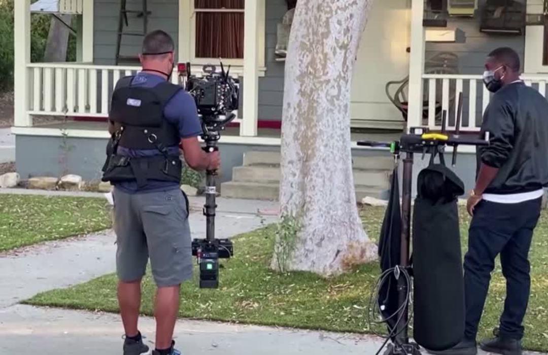 Masks, camera, action! Film crews slowly restart