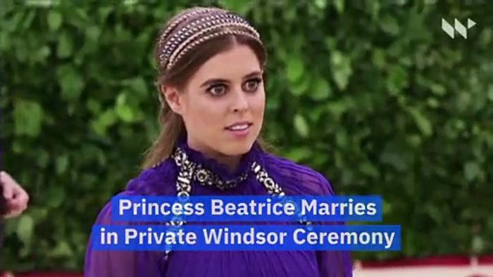 Princess Beatrice Marries in Private Windsor Ceremony