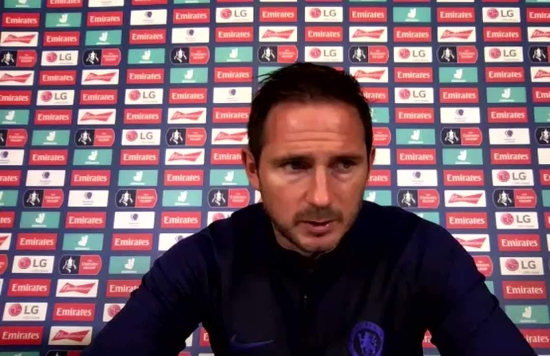 Chelsea wary of Man United's 'potent' front three, says Lampard