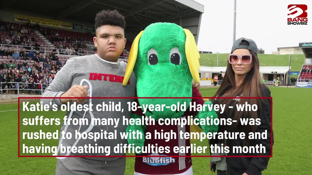 Katie Price's son Harvey discharged from hospital
