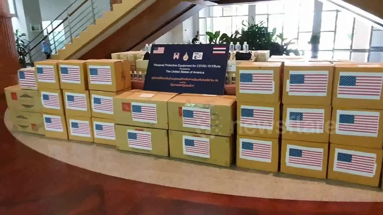 US sends thousands of coronavirus face masks to Thailand despite no cases for two months