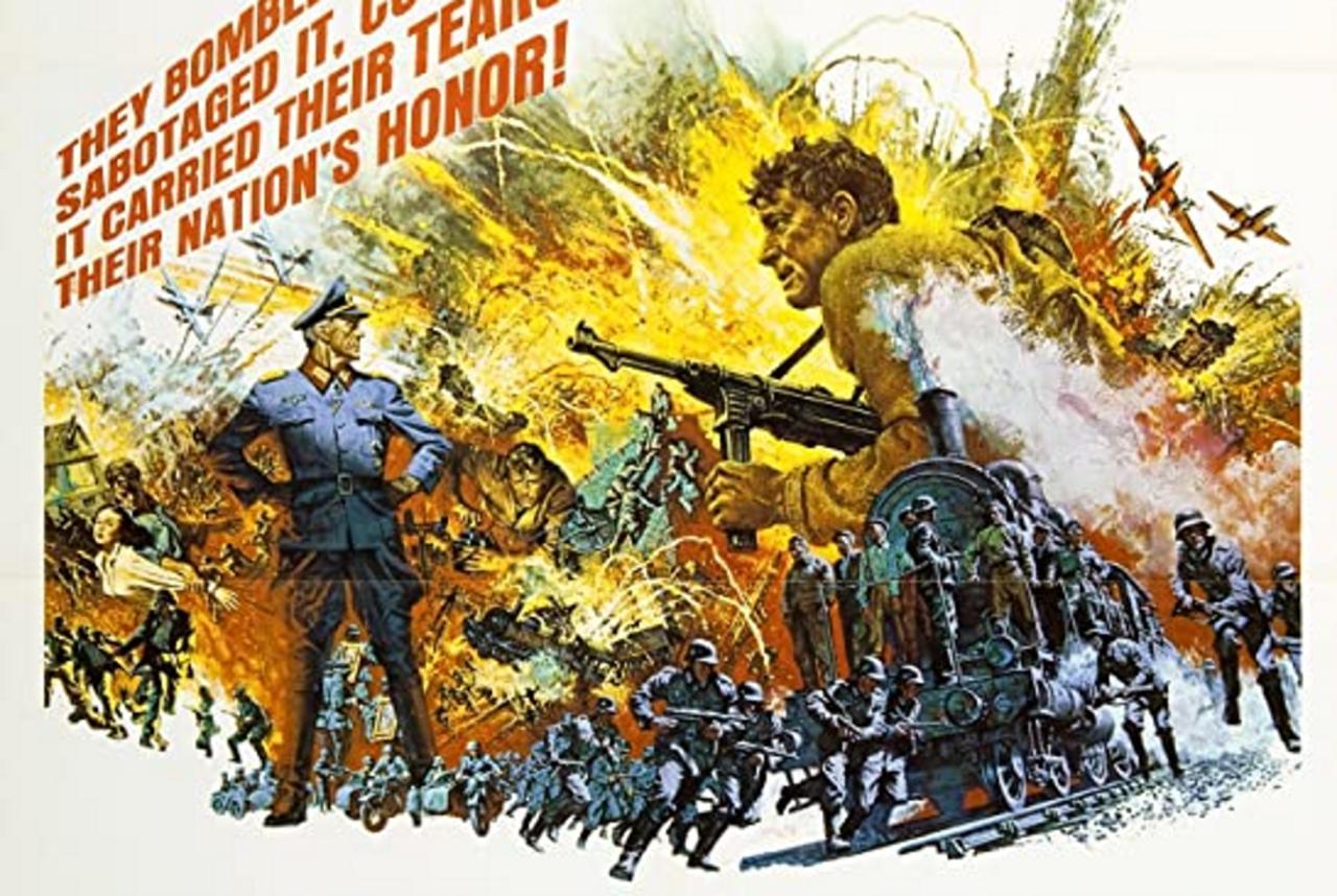 The Train Movie (1964) - Burt Lancaster, Paul Scofield, Jeanne Moreau