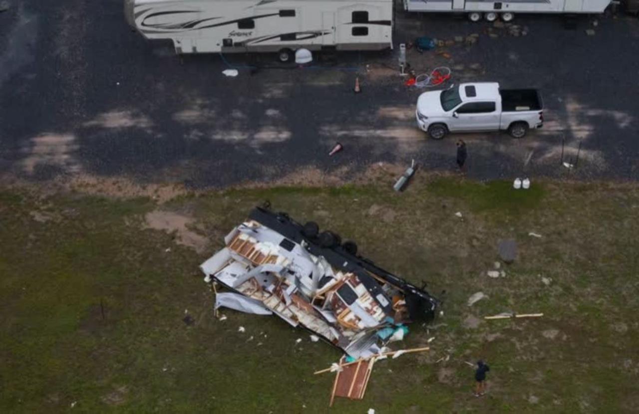Tropical Storm Hanna wallops COVID-hit TX coast