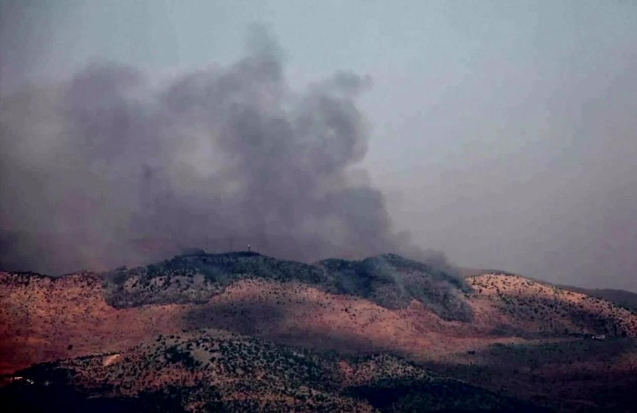 Exchange of fire near Israel-Lebanon border