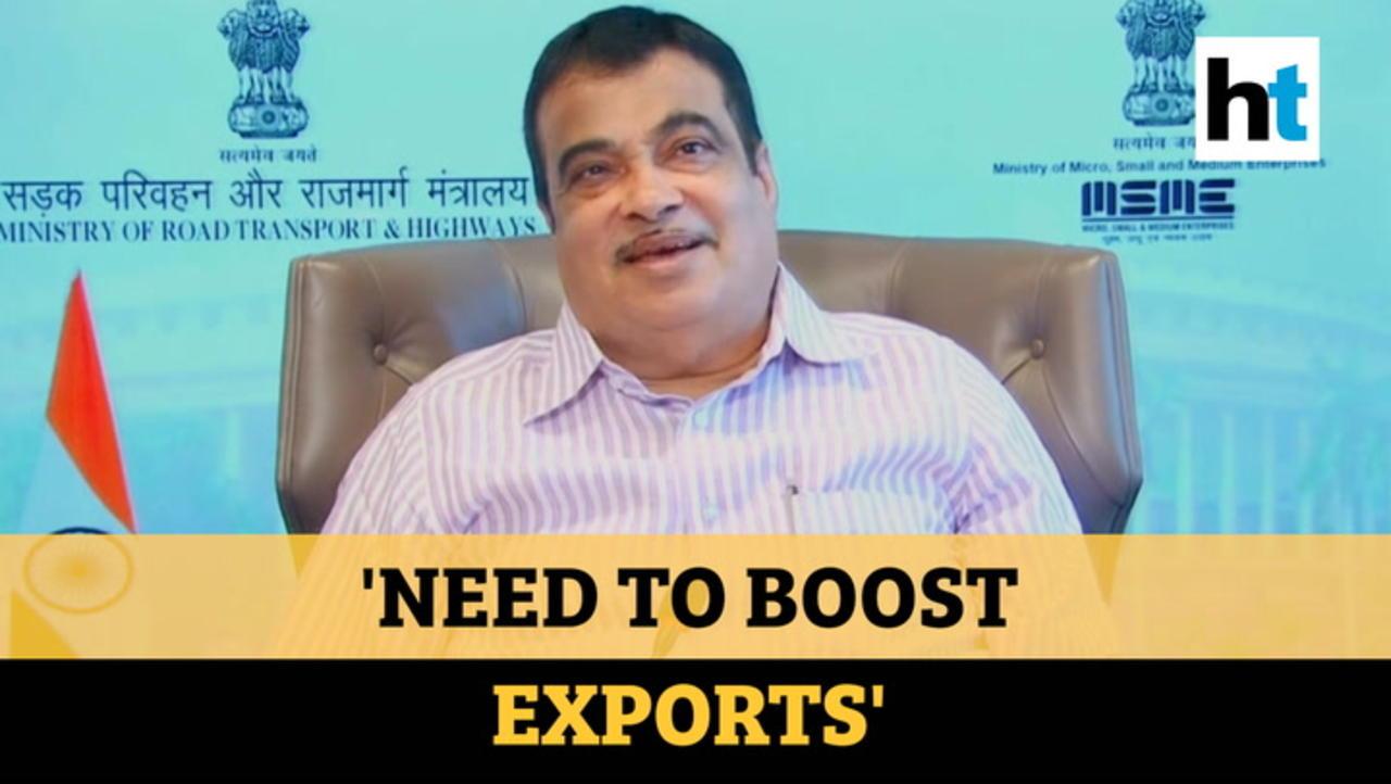 Watch: Union Minister Nitin Gadkari's mantra to make India 'self-reliant'