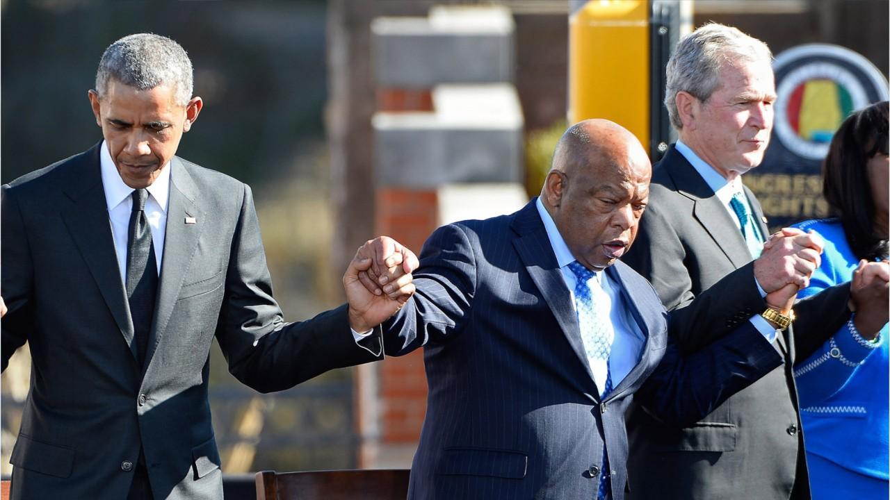 Obama To Eulogize John Lewis, Clinton and Bush To Attend, Trump Refused