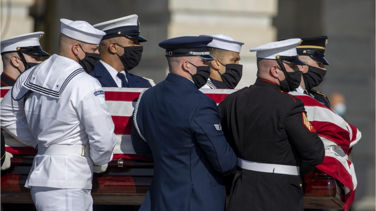 Trump Pointedly Absent From John Lewis's Funeral