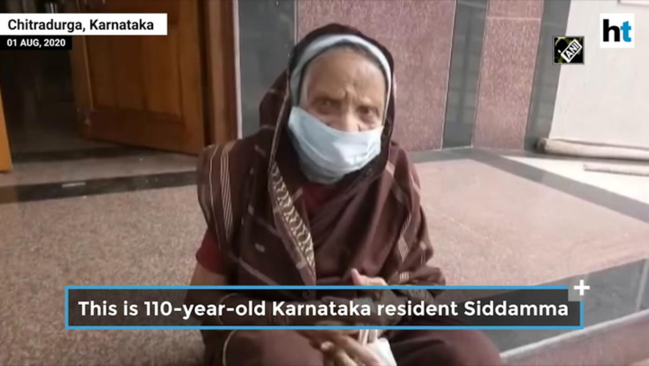 110-year-old woman recovers from Covid in 5 days, discharged from hospital