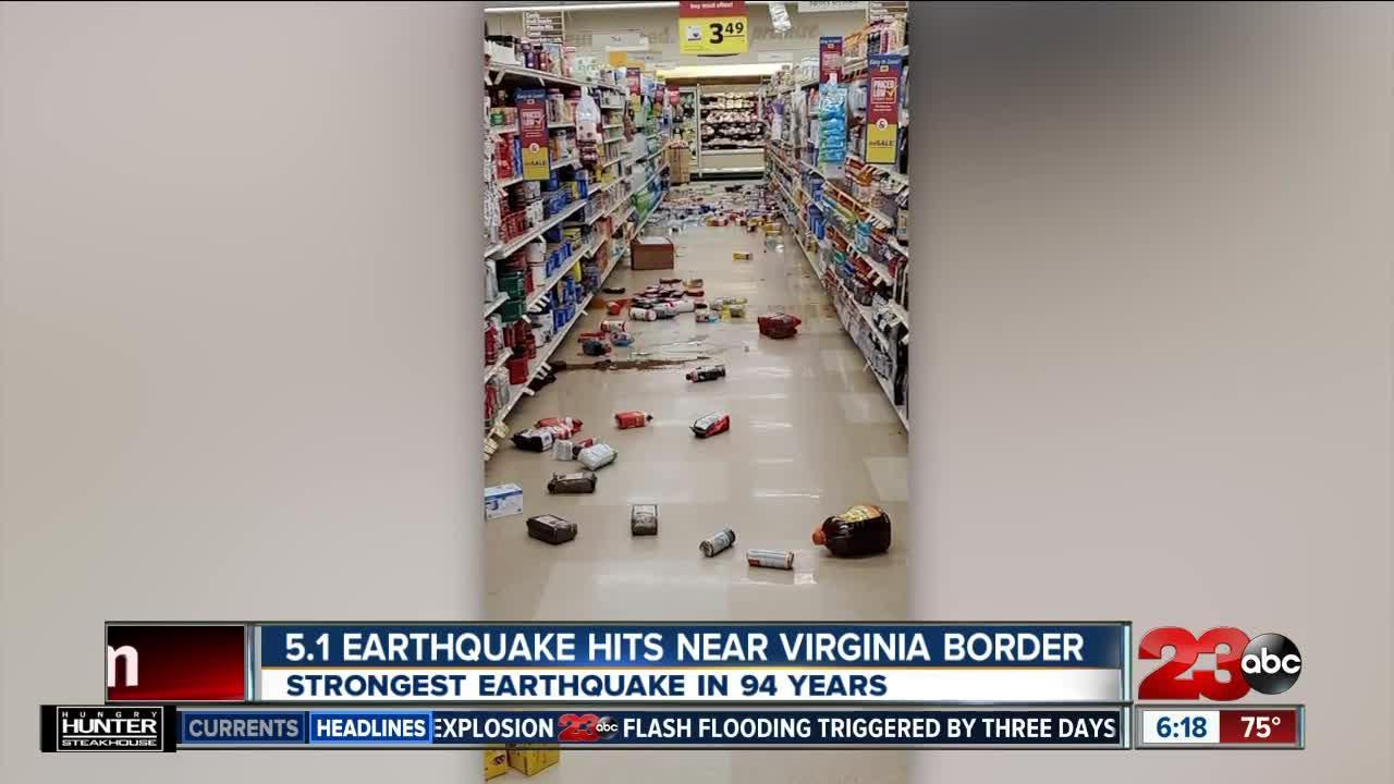 earthquake. in nc - photo #17