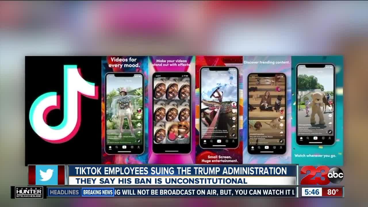 Tech Bytes: TikTok employees suing Trump Administration
