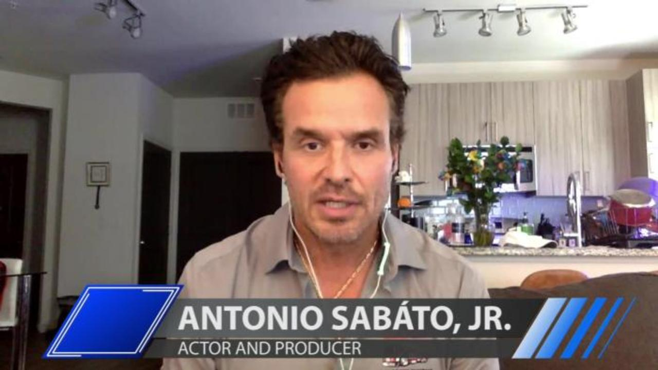 Actor Antonio Sabáto, Jr. talks about being 'blackballed' in Hollywood and his new book