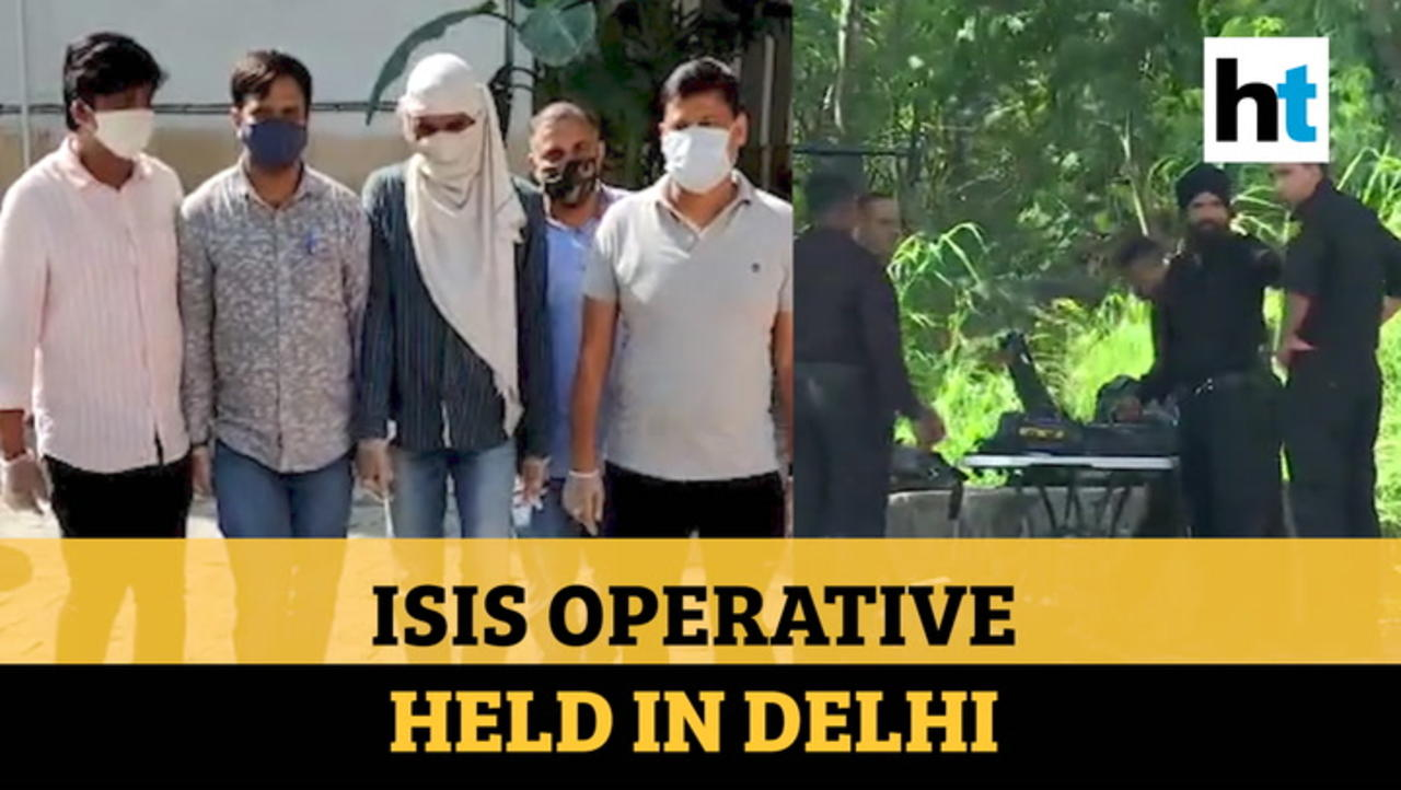 Delhi: Suspected ISIS operative arrested with IEDs after encounter